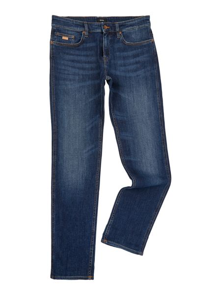 Hugo Boss Delaware mid wash slim fit jean