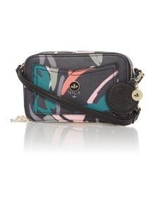 Nica Coco multi coloured small cross body bag
