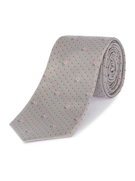 PS By Paul Smith Floral Spot Tie