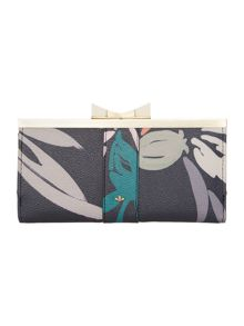 Betty multi coloured large frame purse