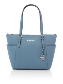 Michael Kors Jetset item blue tote bag