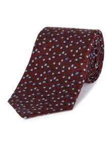 PS By Paul Smith Floral Contrast Tie
