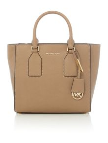 Michael Kors Selby taupe satchel
