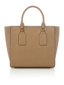 Selby taupe satchel