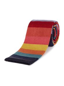 PS By Paul Smith Bold Stripe Knitted Tie