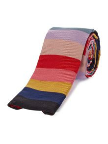 PS By Paul Smith Multi Stripe Square End Tie