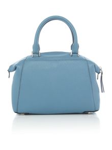 Michael Kors Riley blue bowling bag