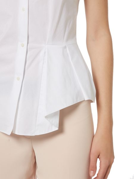 Ellen Tracy Button fronted side flance shirt