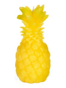 Linea Unscented yellow pineapple candle