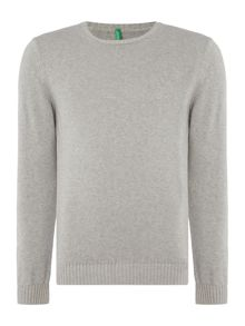 Benetton Basic Cotton Knitted Jumper