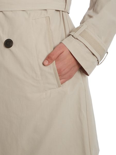 Andrew Marc BROOKE trench coat with hood