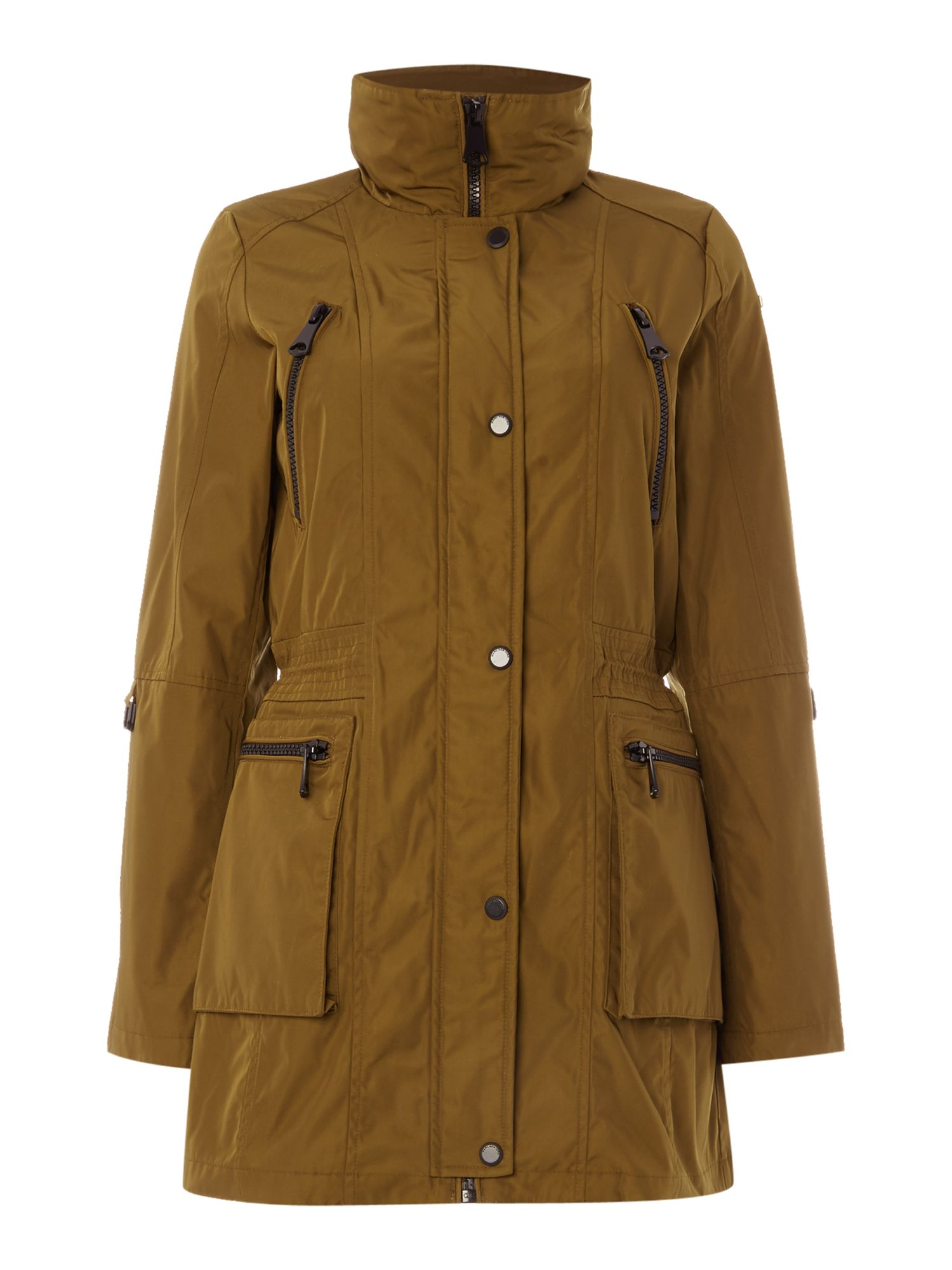 Andrew Marc VERONICA parka coat with hood Green
