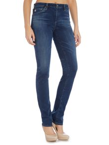 AG Jeans Harper mid rise straight jean in 10 years haven