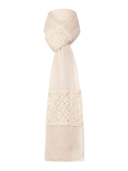 Gray & Willow LACE AND VISCOSE SCARF