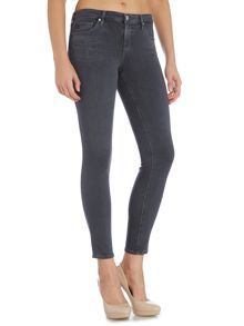 AG Jeans Legging skinny mid rise ankle jean in greyhound