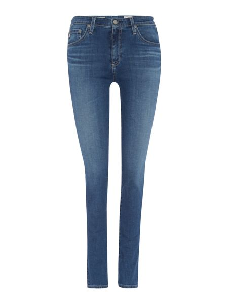 AG Jeans Prima mid rise slim leg jean in 13 years solitude