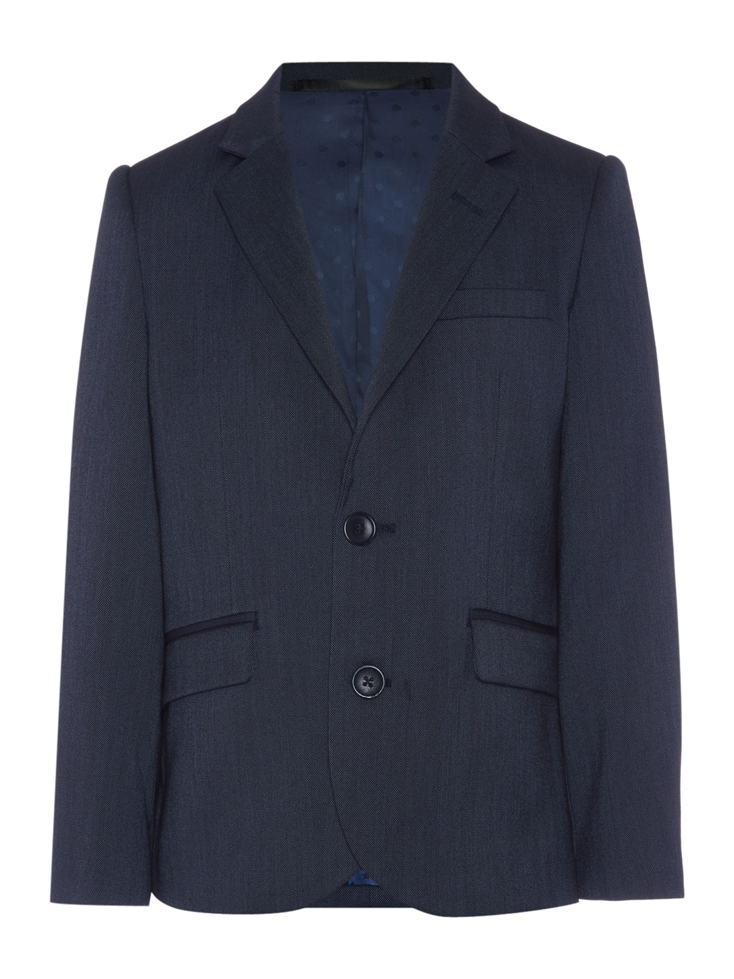 Howick Junior Howick Junior Boys suit jacket end on end, Navy