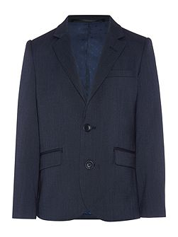 Boys suit jacket end on end