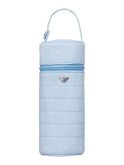 Armani Junior Newborn Stripe Bottle Holder