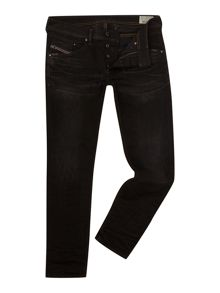 Diesel Belther 666Q Tapered Fit Stretch Jeans