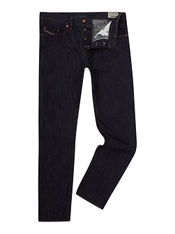 Buster 076C Tapered Fit Stretch Jeans