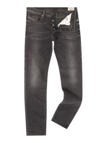 Diesel Buster 669F Tapered Fit Stretch Jeans