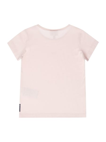Armani Junior Girls Dimante Logo T-shirt