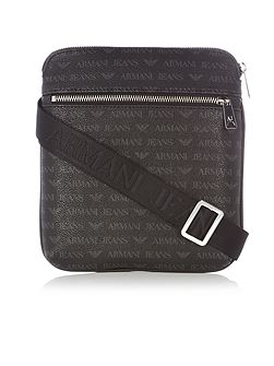 Small all over print cross body bag