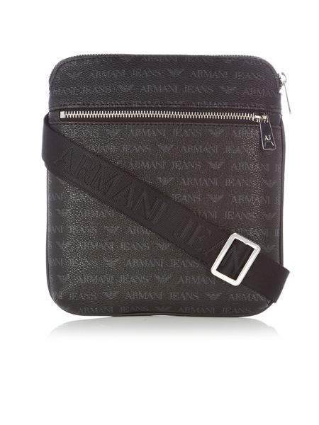 Armani Jeans Small all over print cross body bag
