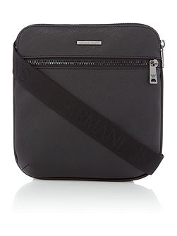 Armani Jeans Small saffiano cross body bag