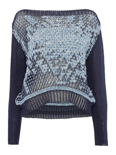 Crea Concept Speckled knitted jumper