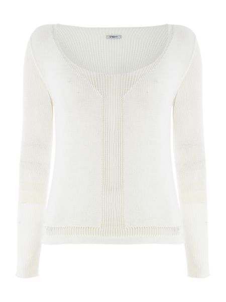 Crea Concept Cropped knitted jumper