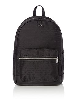 Armani Jeans All over logo print nylon holdall