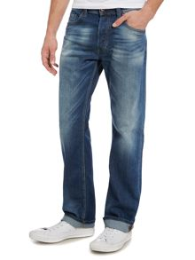 Diesel Larkee Relaxed 848C Loose Fit Stretch Jeans