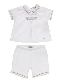Boys top and shorts set