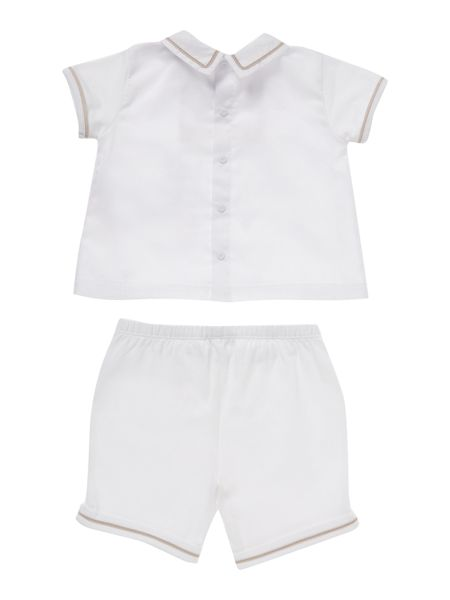 Armani Junior Boys top and shorts set