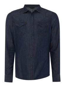 Diesel New-sonora regular fit denim shirt