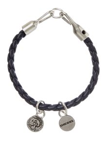 Diesel Bracelet with plaited cord