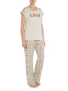 Therapy Love berry pj set