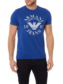 Exclusive Slim Fit Logo Print T Shirt