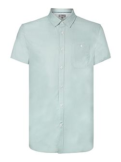 Young Double Oxford Short Sleeve Shirt