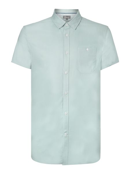 Linea Young Double Oxford Short Sleeve Shirt
