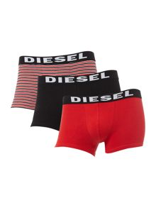 Diesel 3 pack stripe and plain trunk