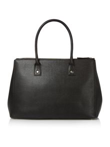 Furla Linda black large tote bag