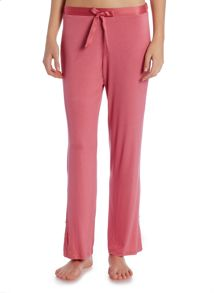 Linea Raspberry lace trim trouser