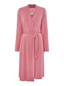 Linea Raspberry lace robe