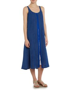 Crea Concept Midi dress with pleat front