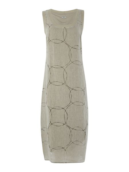 Crea Concept Midi dress with circles