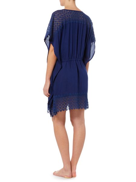 Dickins & Jones Crochet hem cover up