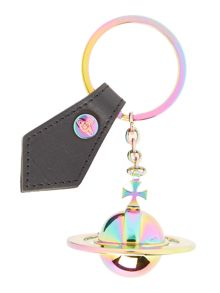 Vivienne Westwood Multi coloured orb keyring